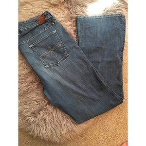 Lucky Brand Ginger Bootcut Jeans.